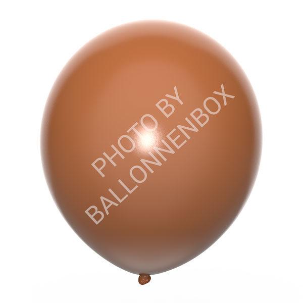 Bruine ballonnen