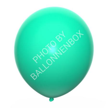Mint groene ballonnen