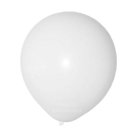 Witte ballonnen