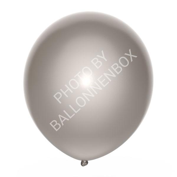 Zilveren ballonnen