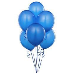 Blauwe ballonnen