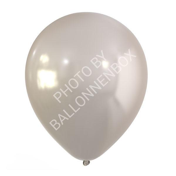 zilveren ballonnen 30cm