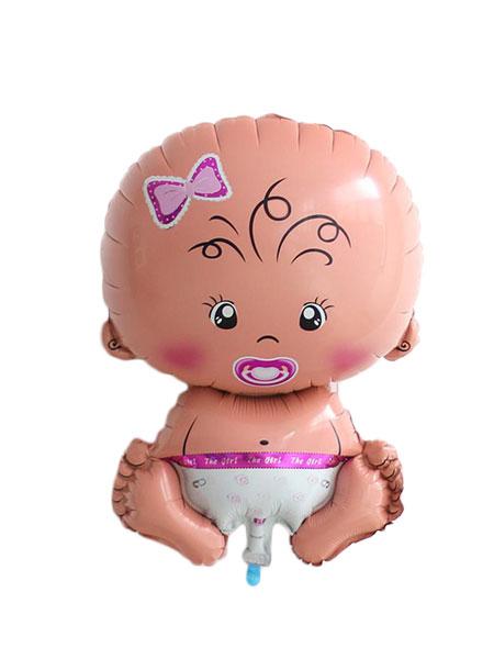 baby ballonnen meisje