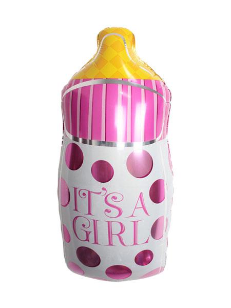 babyfles ballonnen meisjes