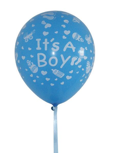 babyshower ballonnen jongens