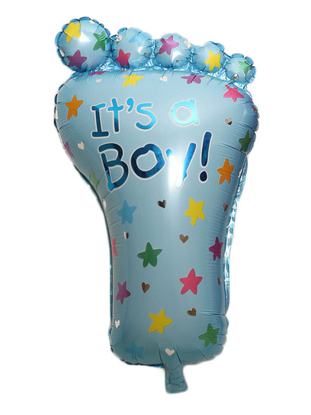 babyvoetjes ballonnen jongens