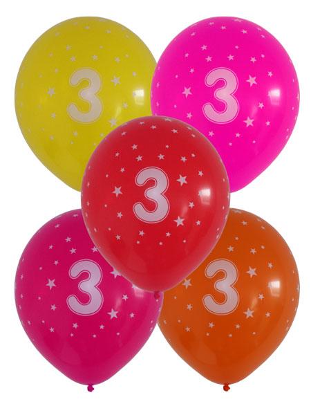 ballonnen 3 jaar