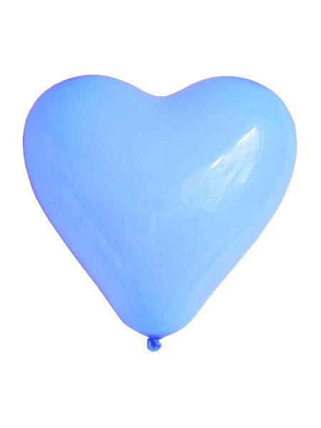 blauwe hartjes ballonnen