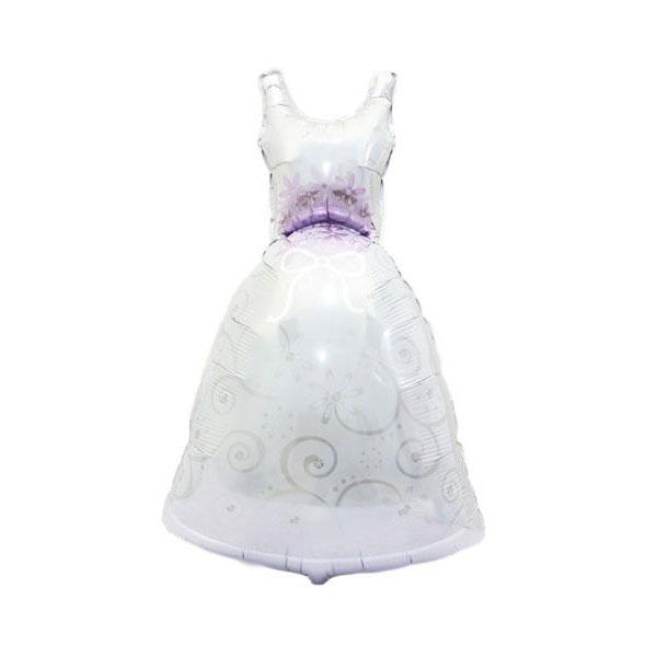 bruiloft ballonnen bruid