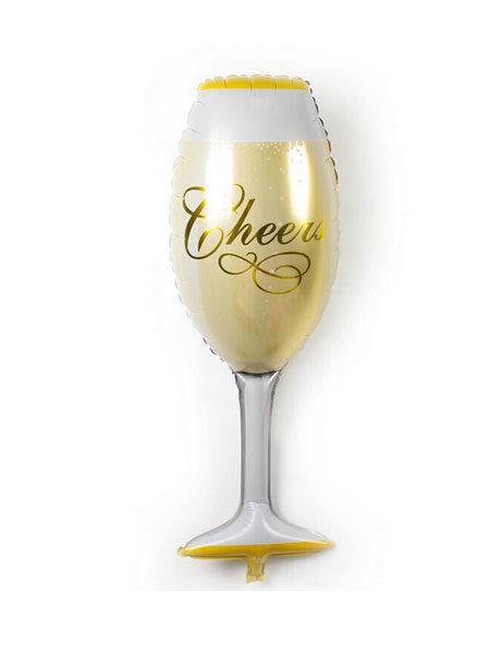 champagne glas ballonnen