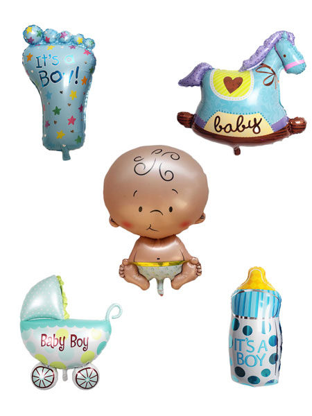 geboorte ballonnen pakket jongens