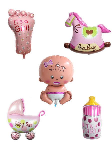 geboorte ballonnen pakket meisjes