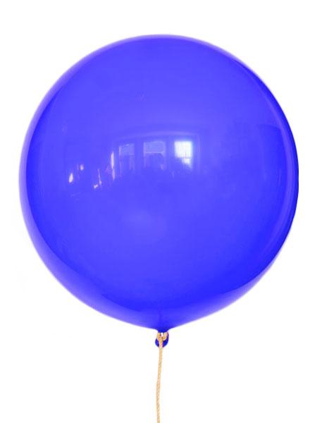 grote blauwe ballonnen