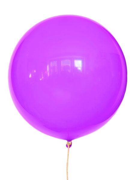 grote paarse ballonnen