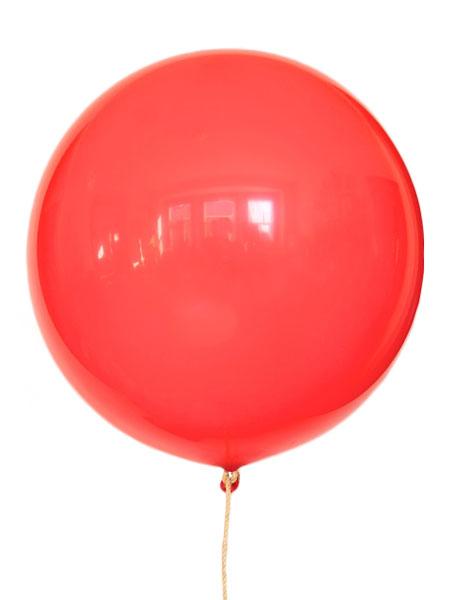 grote rode ballonnen