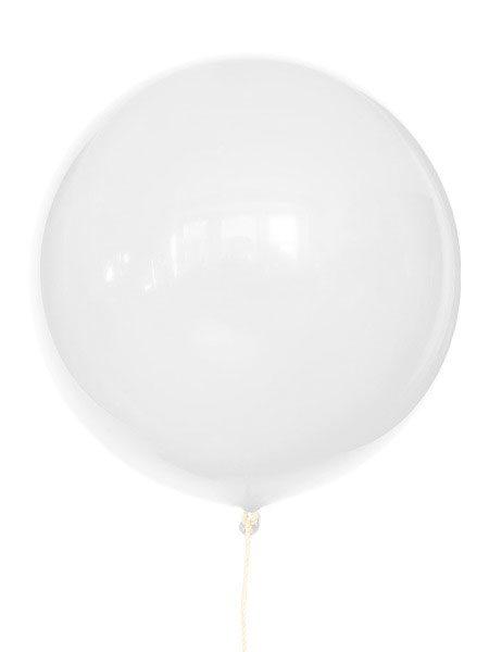 grote witte ballonnen