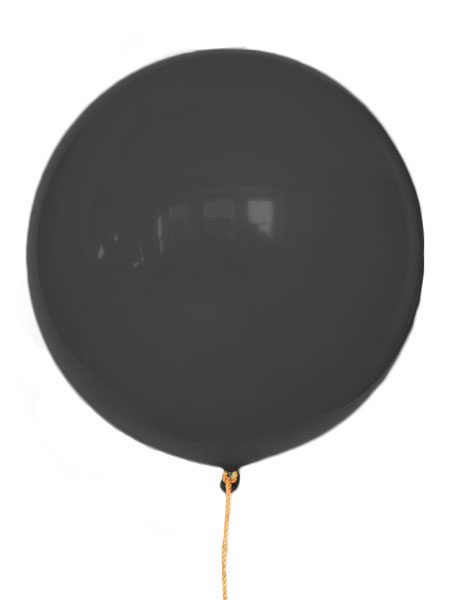 grote zwarte ballonnen