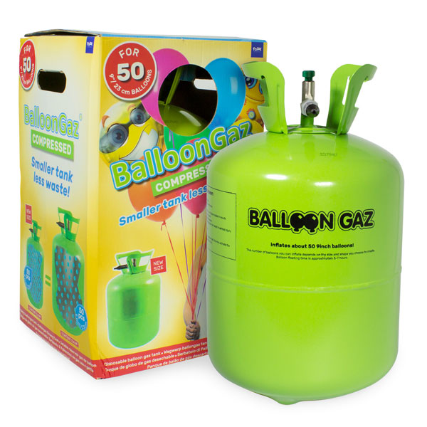 helium tank 50 ballonnen en verpakking