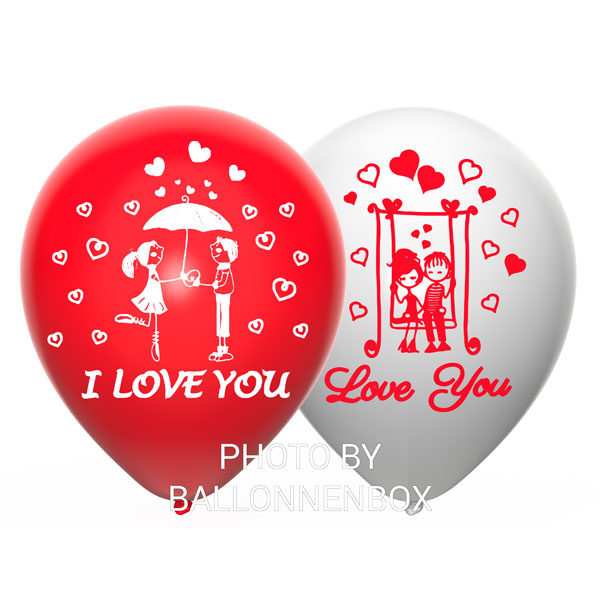 i love you ballonnen