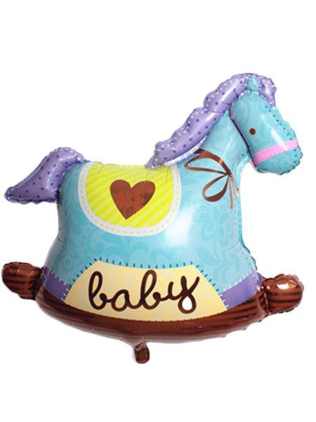 paarden ballonnen jongens