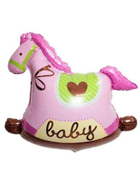 paarden ballonnen meisjes