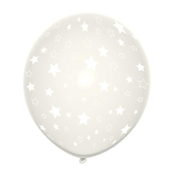 transparante sterren ballonnen