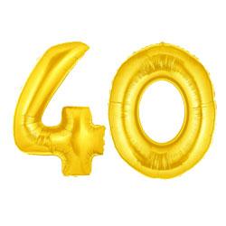 40 jaar getrouwd ballonnen