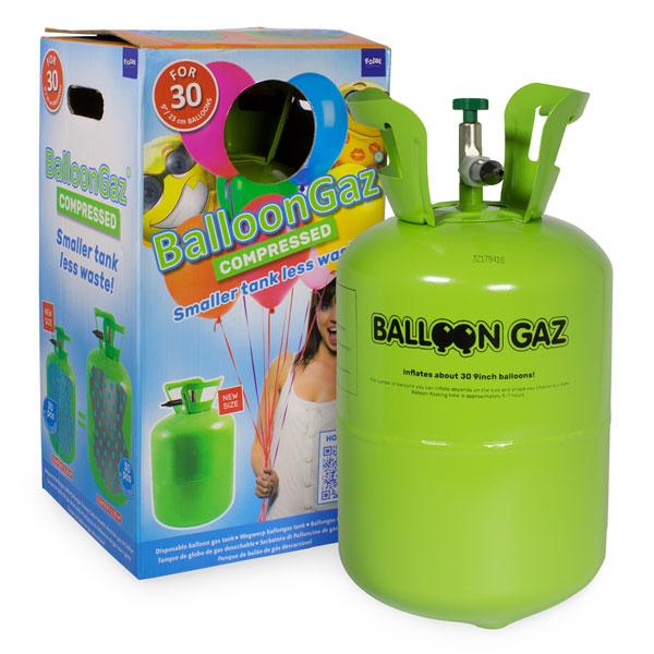 helium tank 30 ballonnen en verpakking
