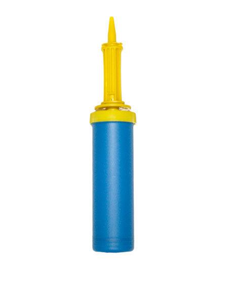 ballonnenpomp blauw