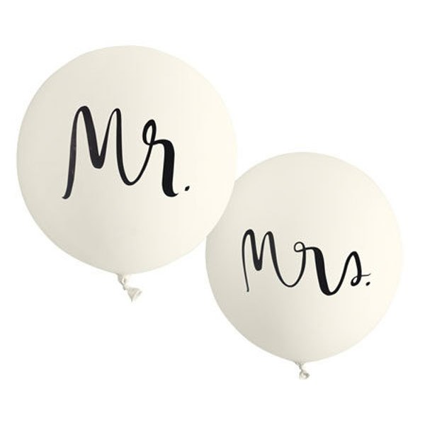 mr and mrs ballonnen