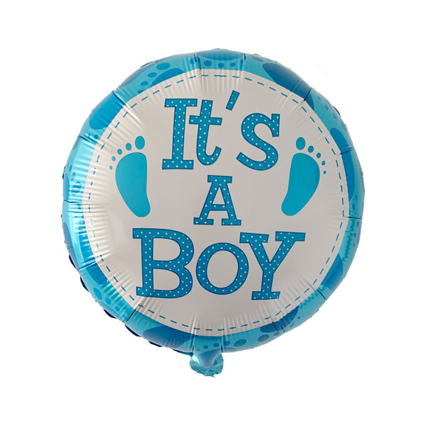 it's a boy ballonnen