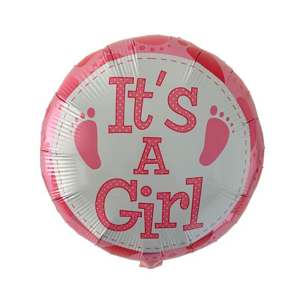 it's a girl ballonnen