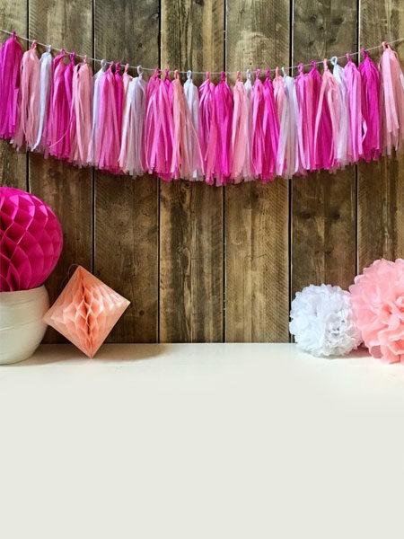 tassel slinger roze