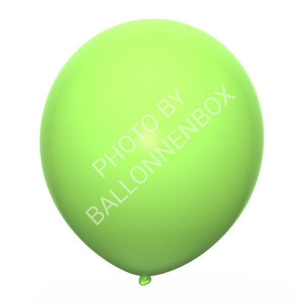 Lime groene ballonnen