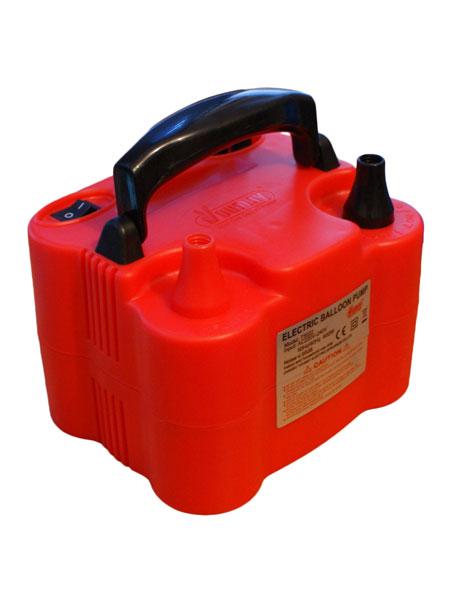 rode elektrische ballonnenpomp