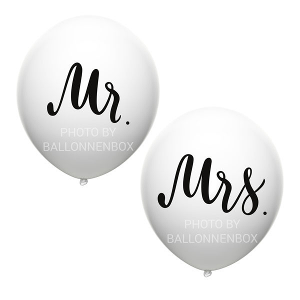 mr and mrs witte ballonnen