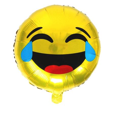 Lachende smiley ballon