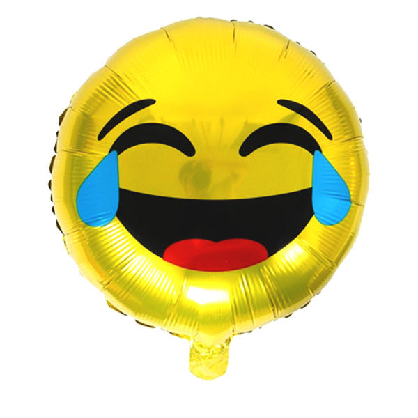 Lachende smiley ballon