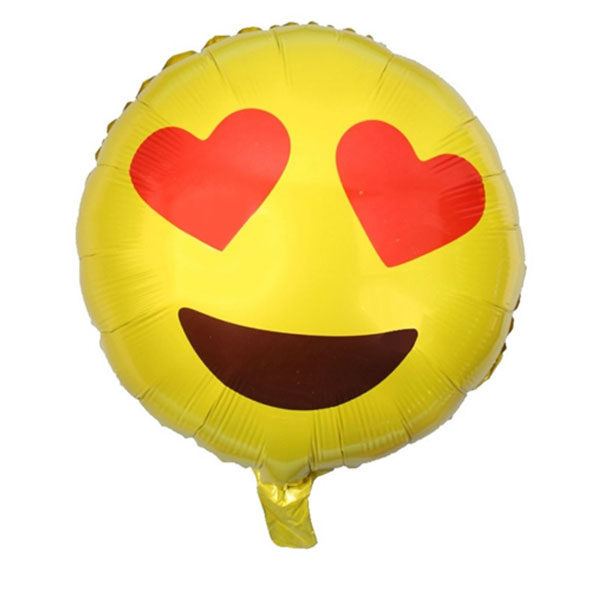 Love smiley ballon