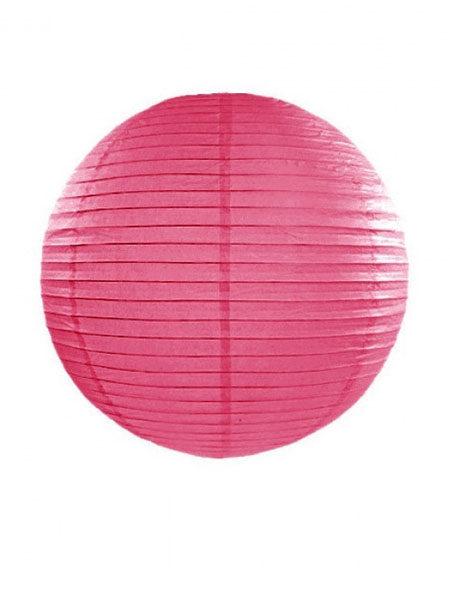 lampion donker roze