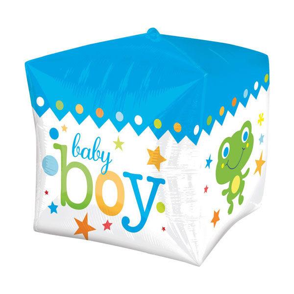 Baby boy kubus folieballon