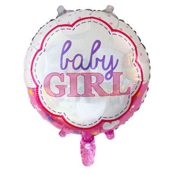 Baby girl folieballon