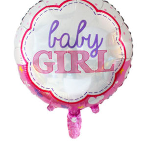 baby girl folieballon