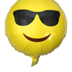 cool smiley ballon