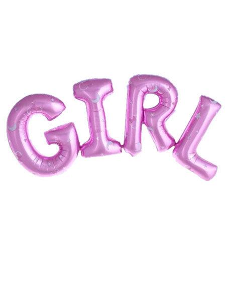 girl folieballon