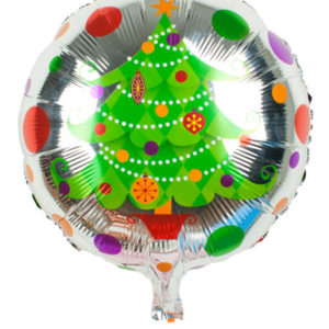 Folieballon kerstboom