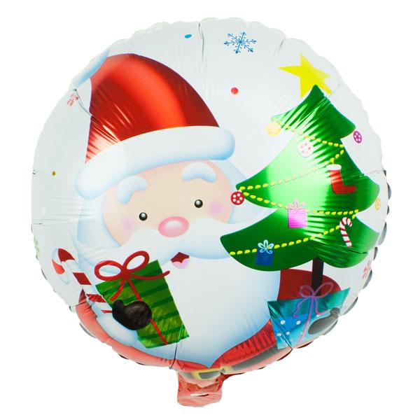 Folieballon kerstman