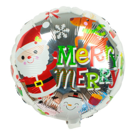 Folieballon kerstmis
