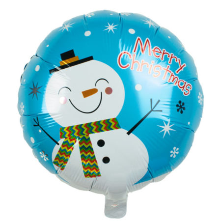 Folieballon sneeuwpop
