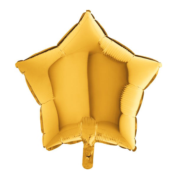 Folieballon ster goud